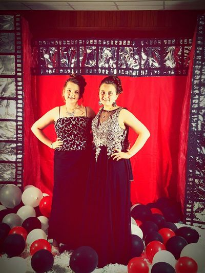Dance 8thGrade Tigerpride  Beautiful People Beauty Two People Evening Gown Friendship TIMEFORHIGHSCHOOL