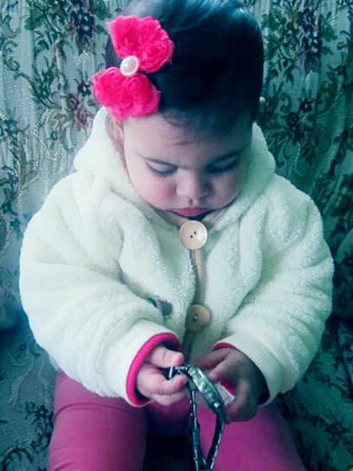 My Flower GrandNiece My Happiness ❤ My World 🌍 My All My Heart My Breath Small Girl Nia My Sweety Baby