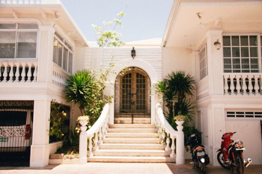 Architecture Architecture Architecture_collection Balcony Building Building Exterior Built Structure Day Exterior Façade Growth Heritage Low Angle View No People Outdoors Philippines Philippines <3 Philippines Photos Plant Residential Building Residential Structure Sky The Way Forward VSCO
