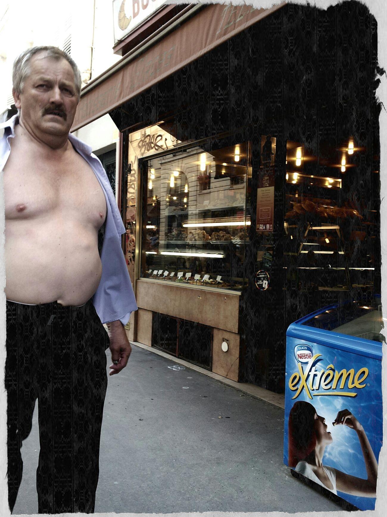 Quand le desir de fraicheur est extreme.. Street Life Scène De Vie Street Photography AMPt - Street