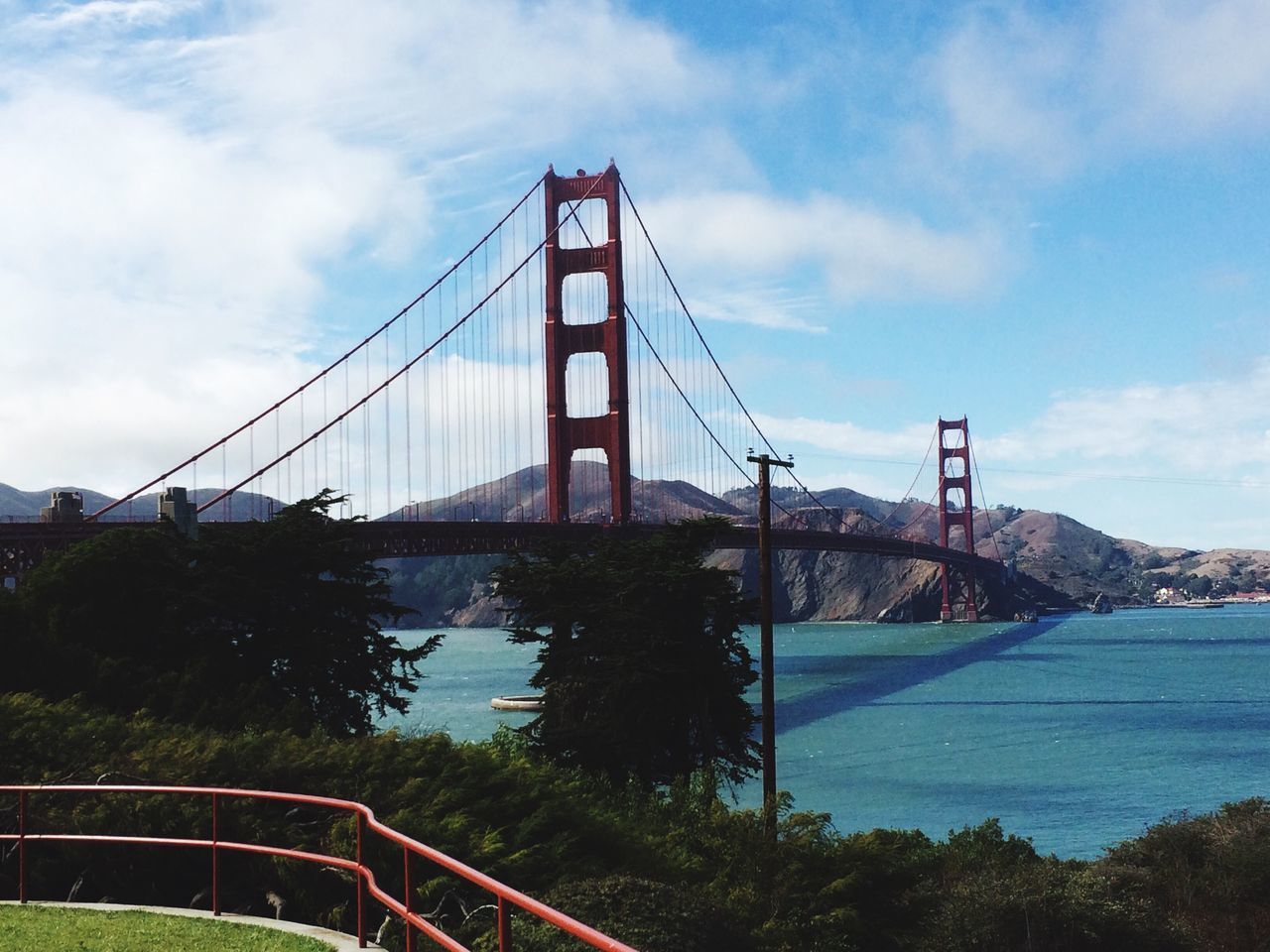 Sky Water Golden Gate Bridge Bridge No People