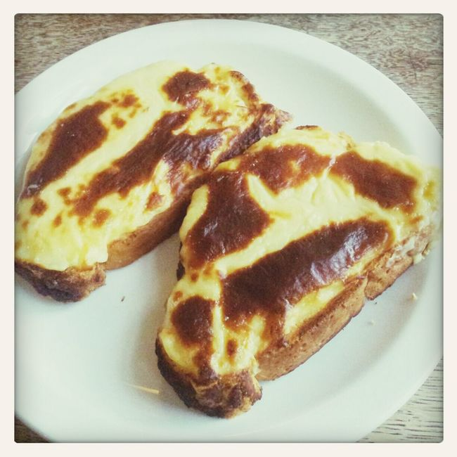 Welsh Rarebit Breakfast