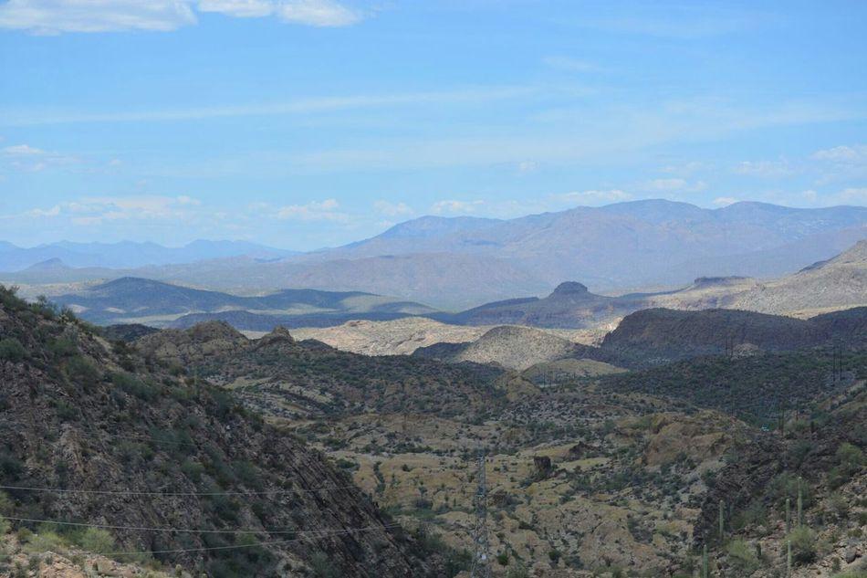 Gilbert, Arizona Desert Beauty Mountain View Hanging With My Bro