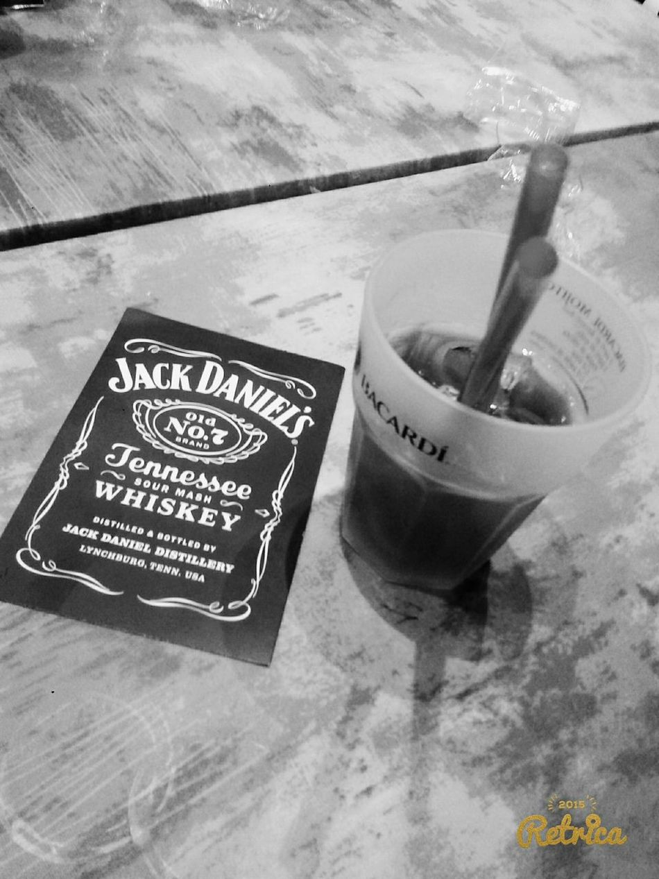 Cocktail Jack Daniels And Coca-cola Jack&cola Blake_and_white ❤