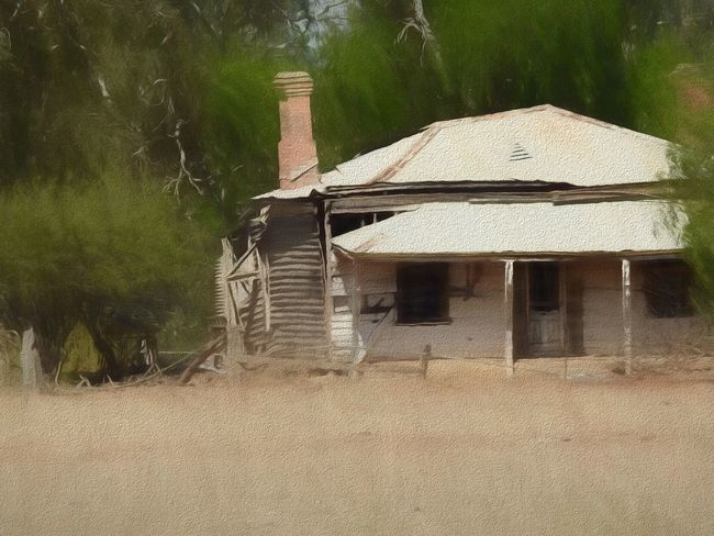 Barnadown Ruin Architecture Built Structure Colonial Architecture Country Australia Deterioration Nature No People Old Old Farmhouse Outdoors Ruins Run-down Tree
