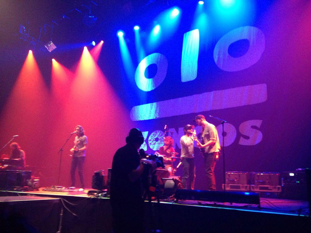 Kongos Onerepublic 's support Paris Concert