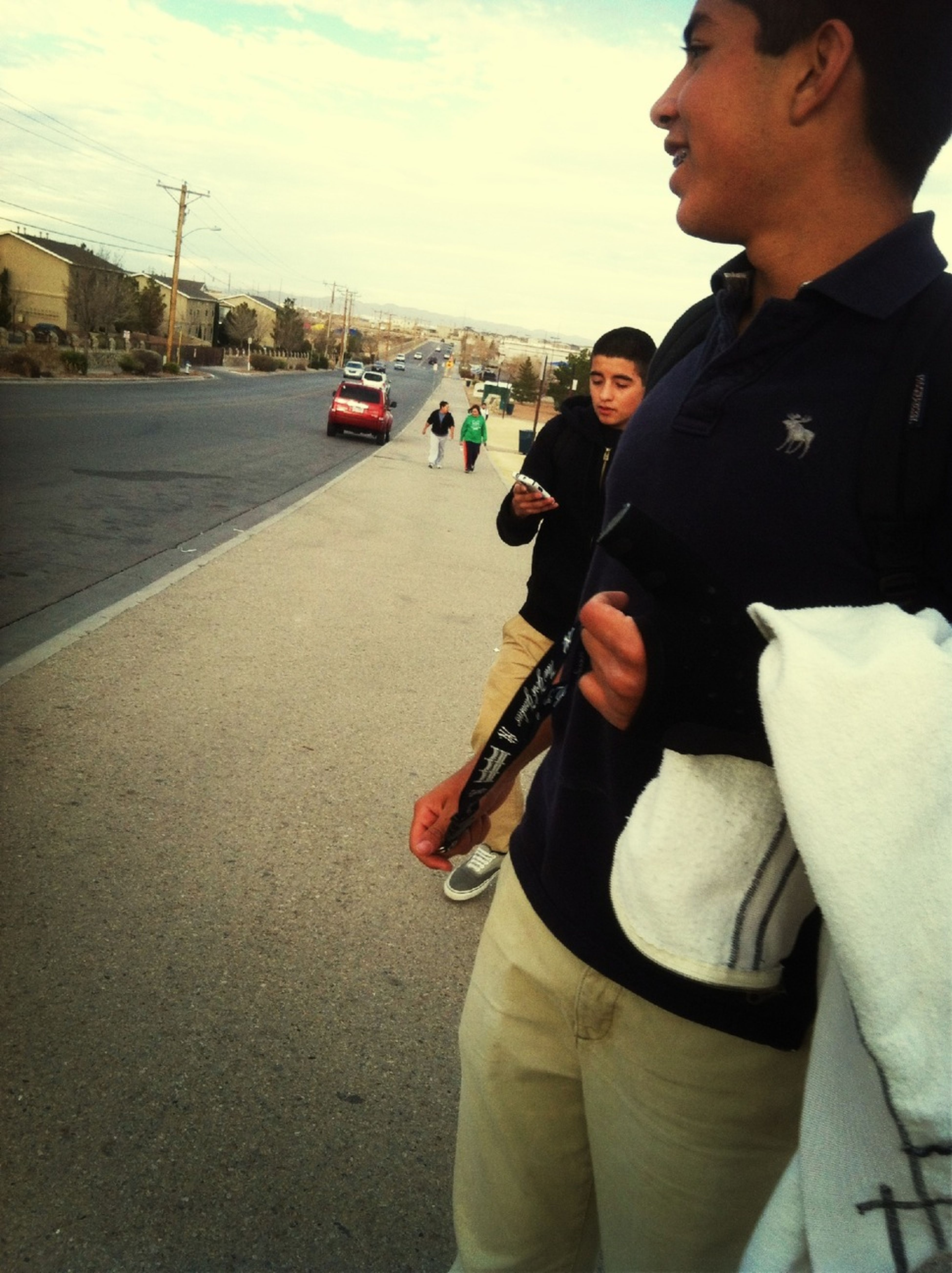 Walked Home With These Kids -.-