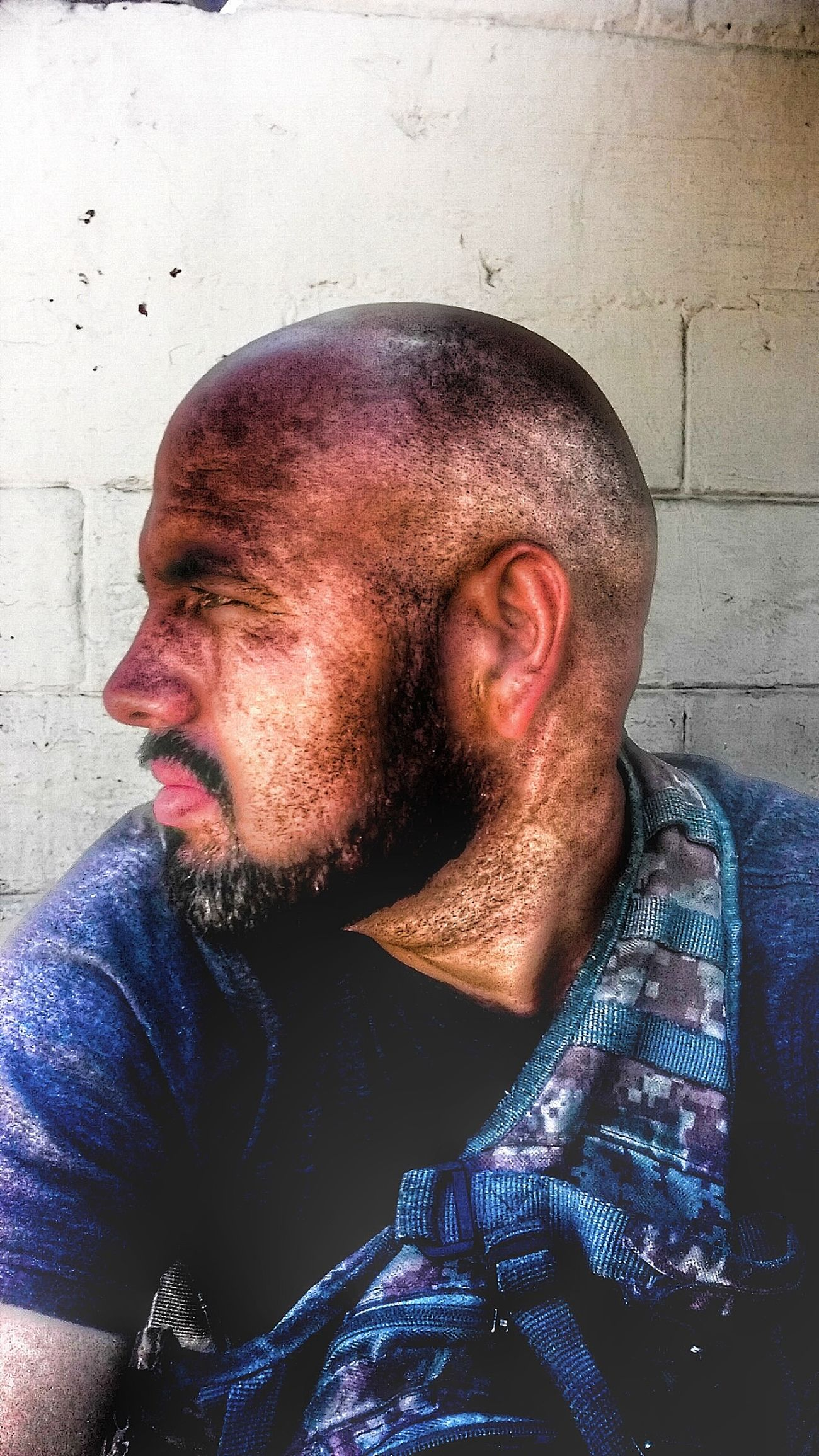 One Person Only Men Mid Adult Shaved Head One Man Only Mid Adult Men Mature Adult Headshot Adults Only One Mature Man Only Mature Men Real People Balding People Beard Casual Clothing Adult Mustache Portrait Human Face EyeEmNewHere