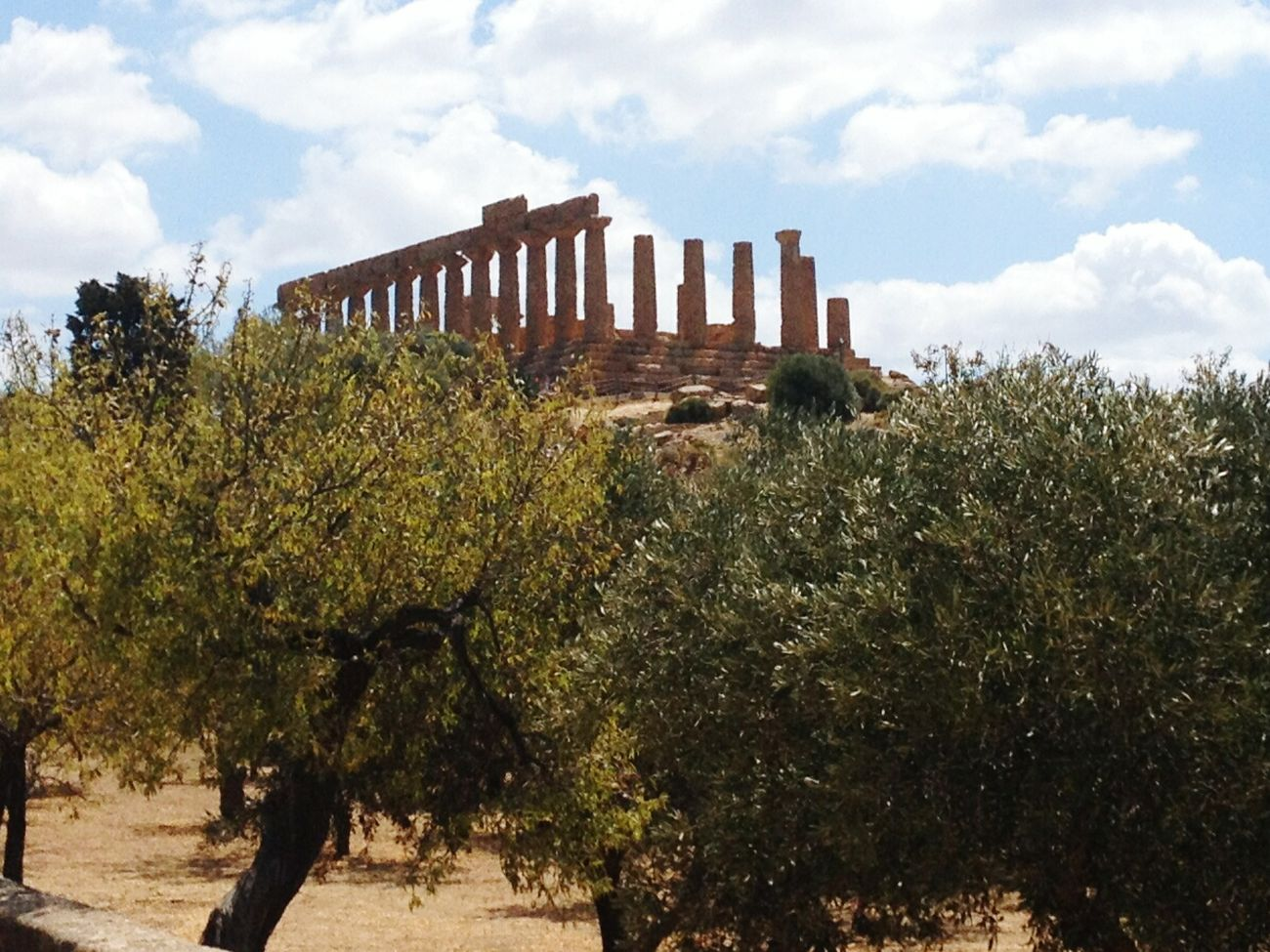 Sicily Agrigento Temples View