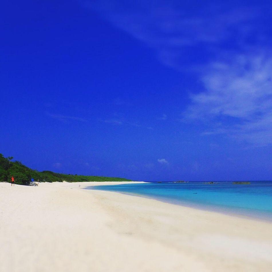 Blue Sea Blue Beautiful Japan Okinawa Beach 海 Sea 沖縄 Haterumajima 波照間