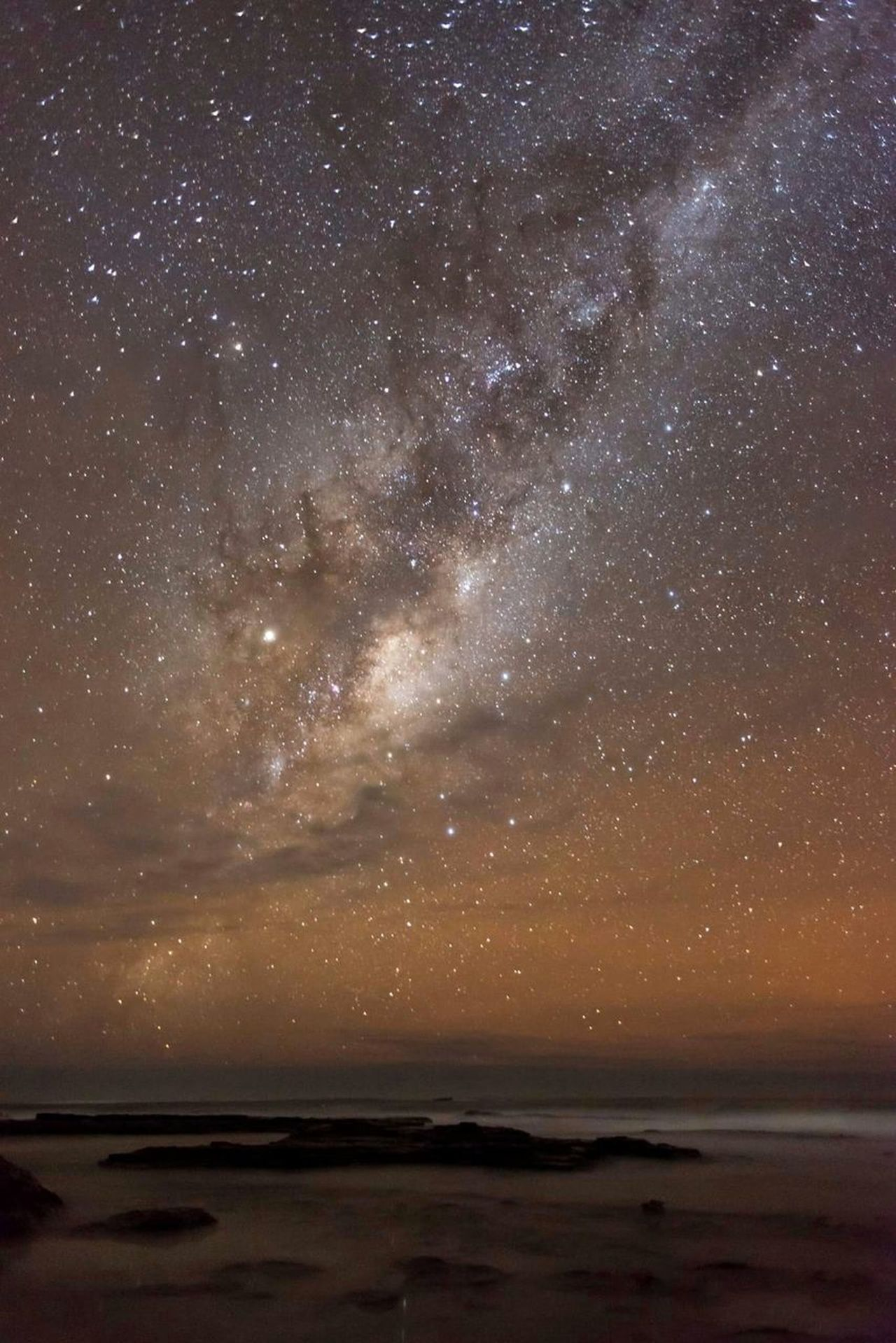 Night Beach Star - Space Astronomy Milky Way Sky Sea Galaxy Nature Space Constellation Landscape Water Outdoors Summer Awe Scenics Beauty Sand Sunset Broski Photography Canary!Graphics Canary! Eyesight Horizon Over Water