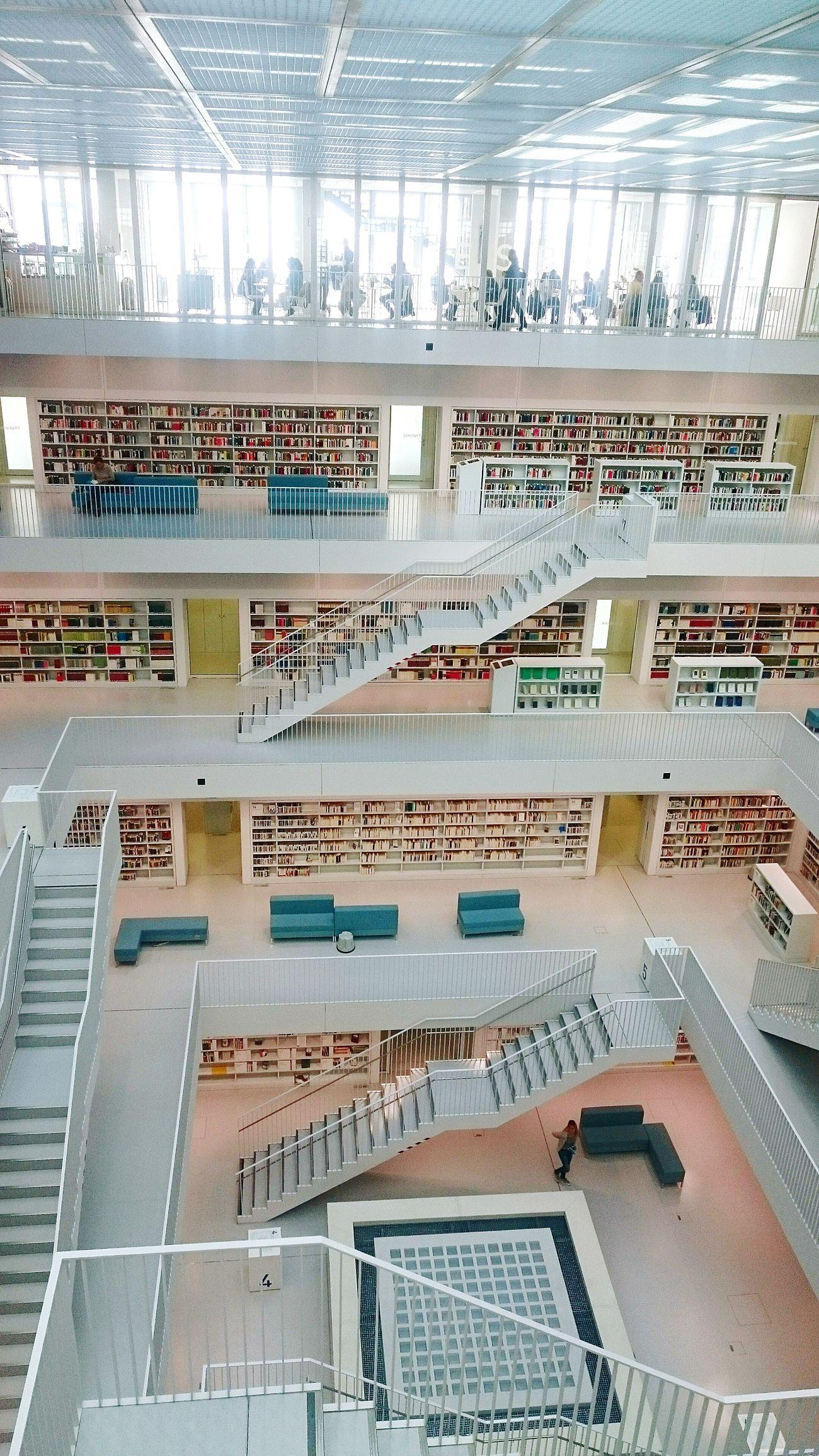 Lesen Bücherei Stadsbibliotek