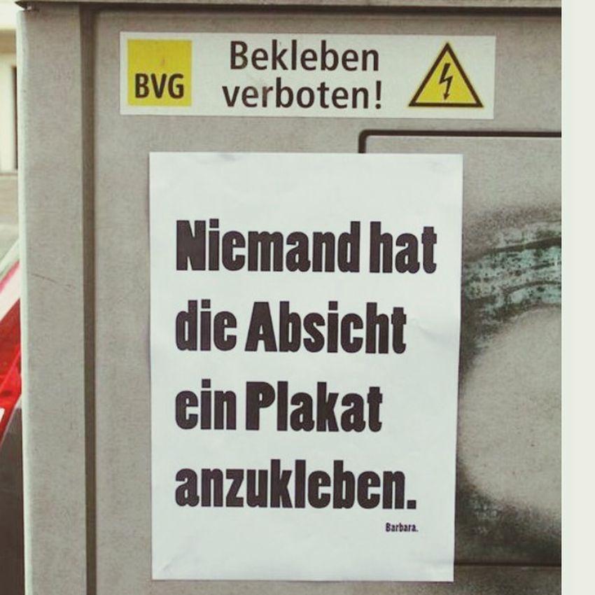 Poster Sprüche Word On The Street