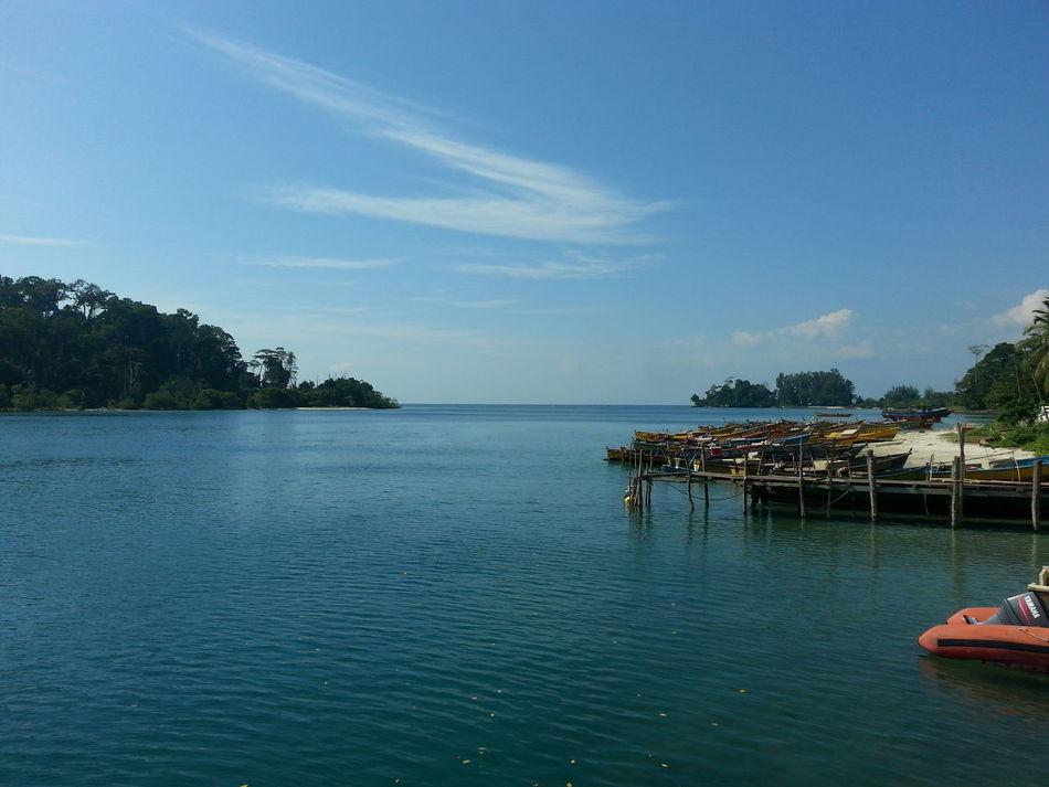 Beauty In Nature BYOPaper! Nature No People Outdoors Scenics Sea Sky Wandoor Wandoor Island Water