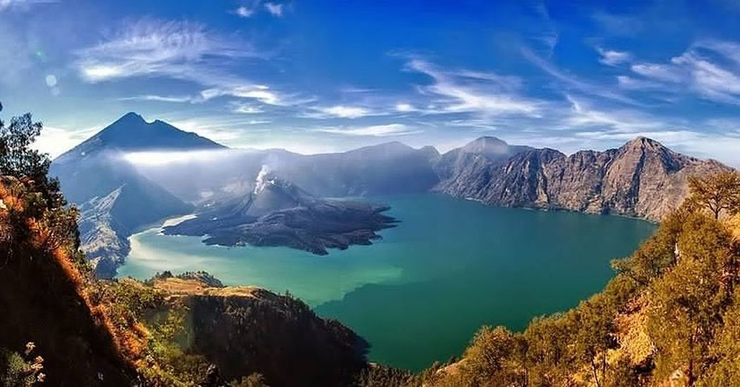 Mountainwe have a complete package of information activities of hiking, trekking, climbing, camping and cooking service in the National Park of Mount Rinjani, Lombok Island, Indonesia. Lake Landscape Cloud - Sky Mountain Range Mountain Peak Nature Scenics Pinaceae Travel Water Panoramic Outdoors Blue Beauty In Nature Fog Hiking Adventure No People Glacier Scubasurflombok Lombok-Indonesia Rinjanimountain Rinjani National Park Agus_harianto_photography