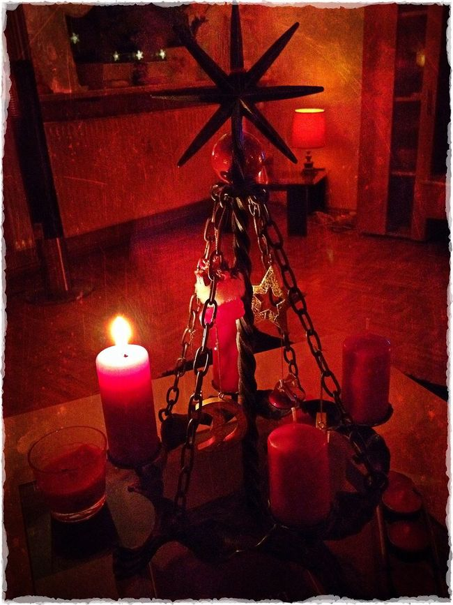 IPhone Editing My Christmas Decoration Chilling At Home Turn The Lights Down Low