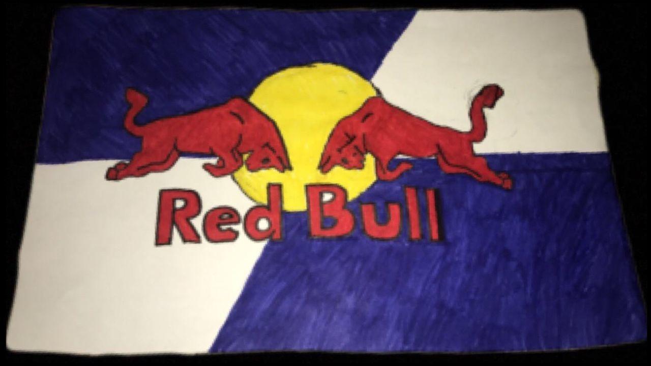RedBull Painting Drawn My Like Love Yum Follow Drawningbyme