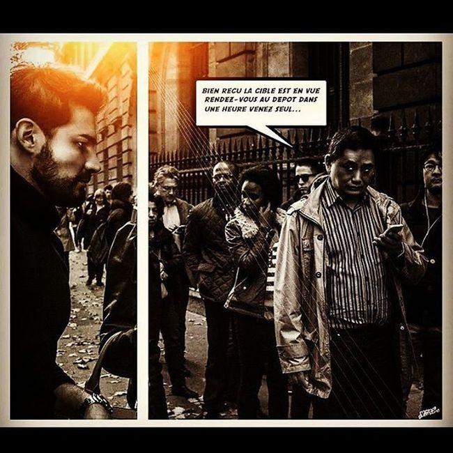 Comicsparisien Art Photografer Tourist Mehdiguemache