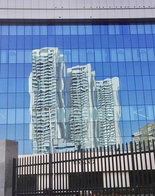 Reflection cityscapes 1182