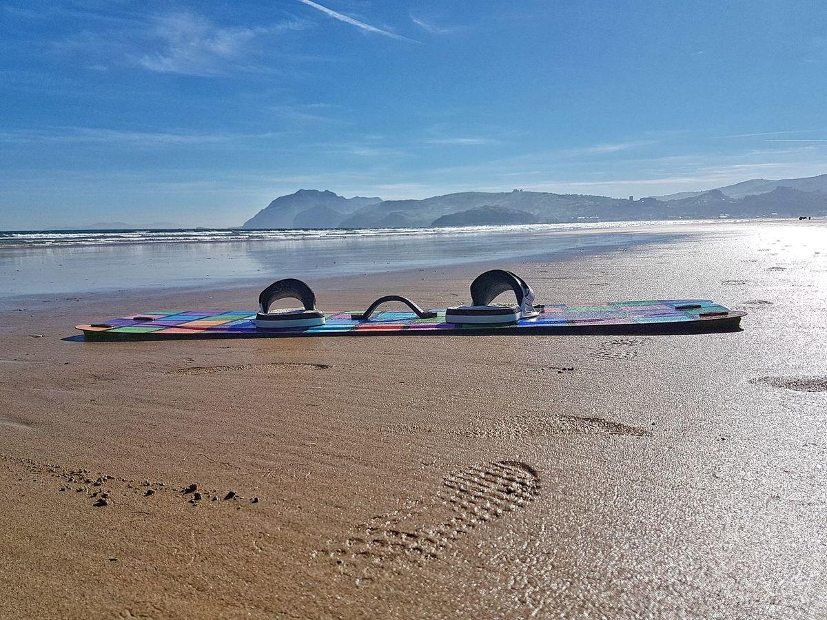 Beach Sea Water Sky Playa Laredo Cantabria Spain