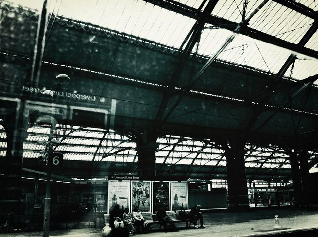 Waiting Historical Building Public Transportation Dirty Train Window