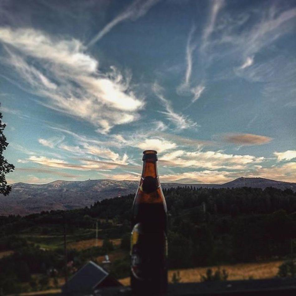 Weekend Gniewosz Ciemny Browargontyniec Szklarska Szrenica Widok Niebo Gory Karkonosze Beerporn View Mountains Sky Instapic Instaphoto Instagood Instadaily Instabeer Photooftheday VSCO