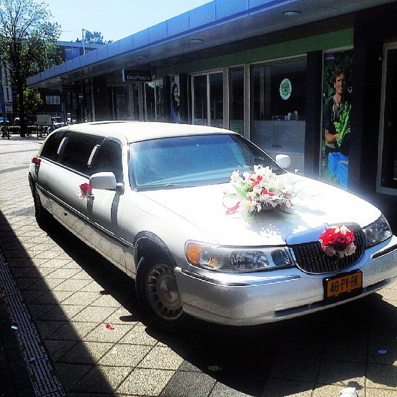 Wedding Sister Limoooo White swag flowers nice like4like amsterdam