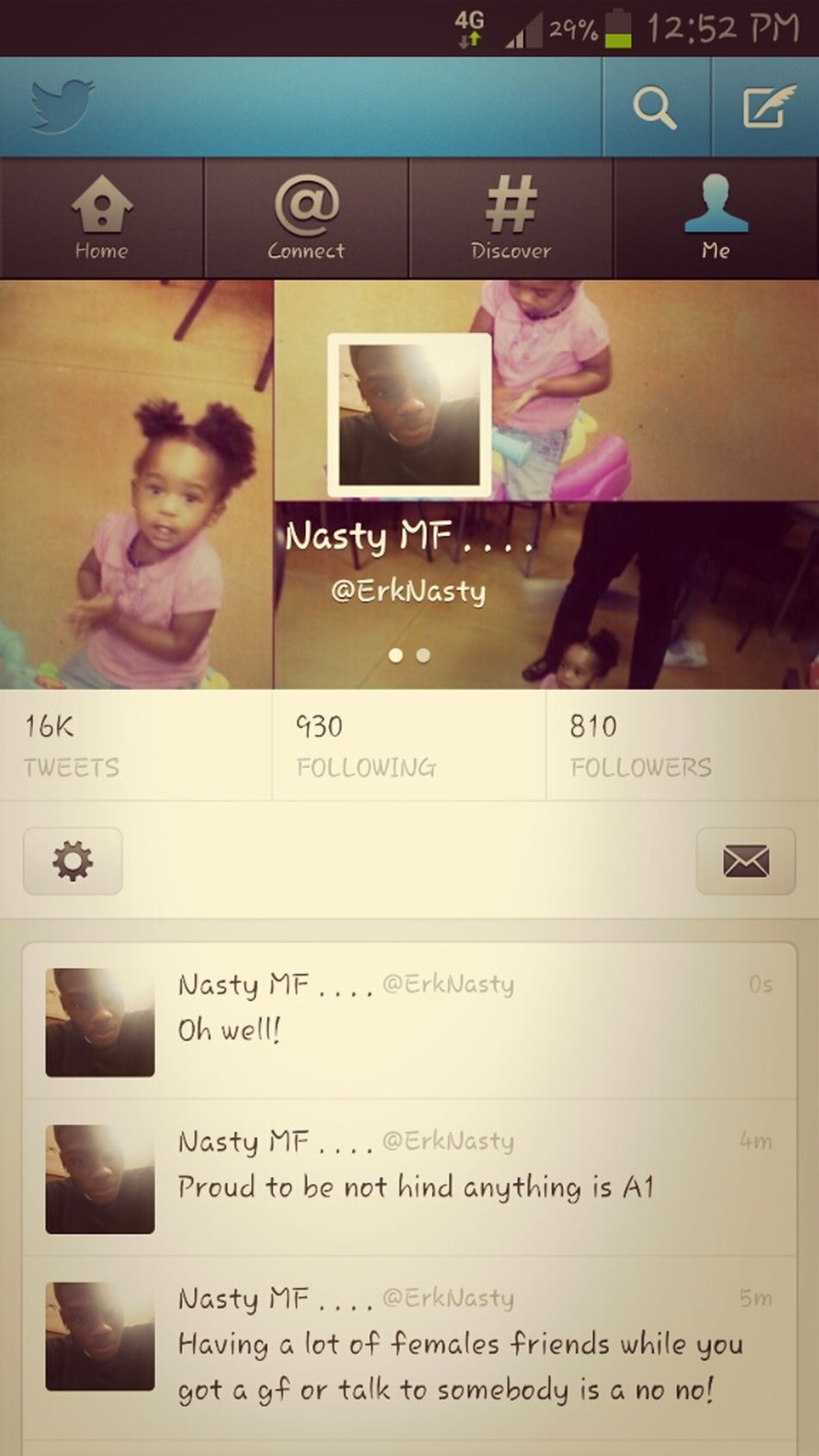 Follow Me On Twitter (: @ErkNasty