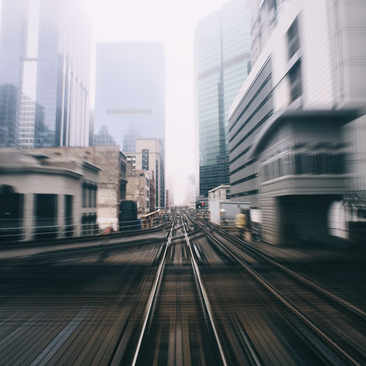 Beautiful stock photos of architecture, Blurred Motion, Building Exterior, Chicago, City
