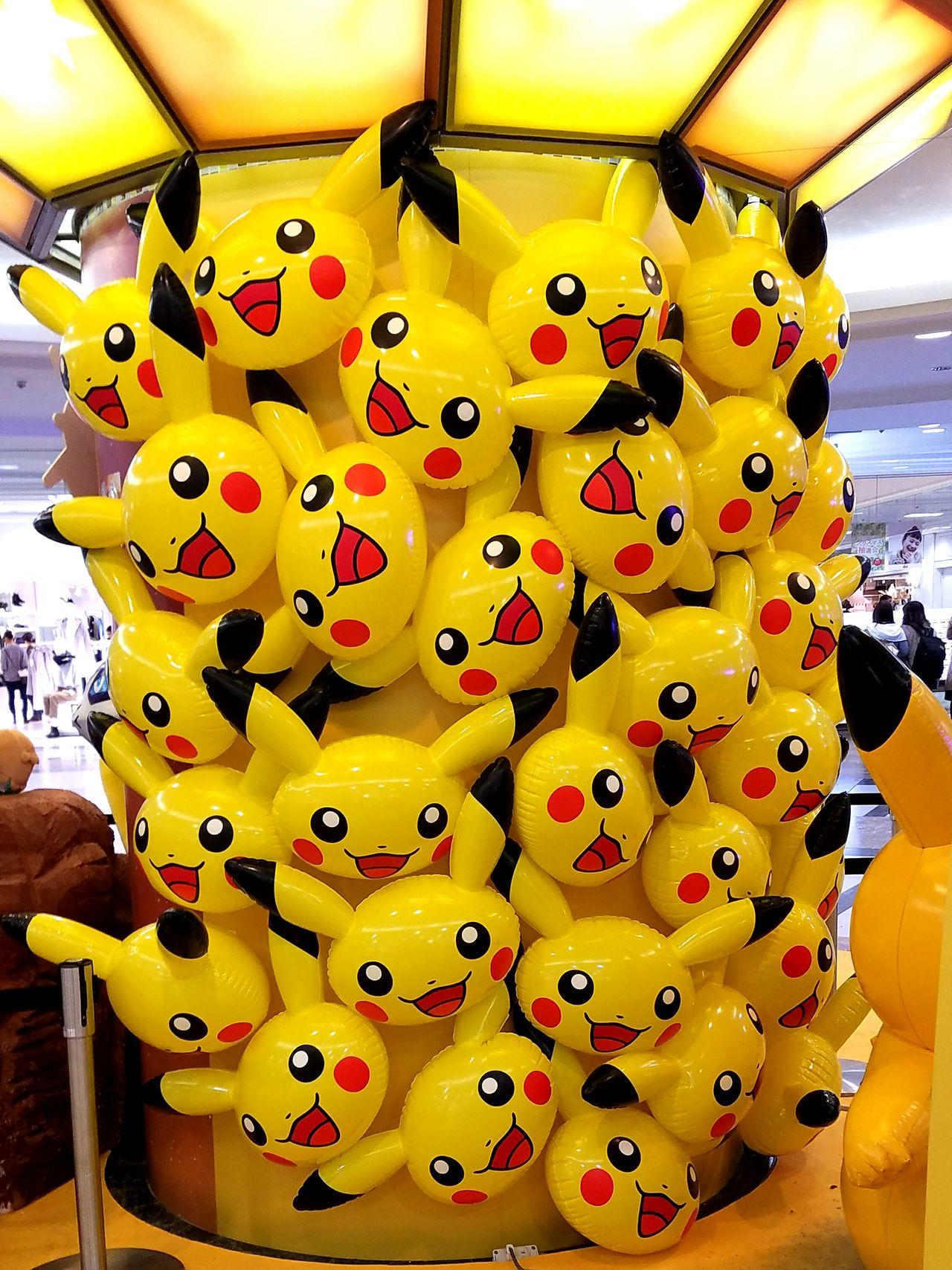 ポケモン ピカチュウ Yellow Japanese Photography Tokyo Japan Pokémon Pikachu ポケモンセンター