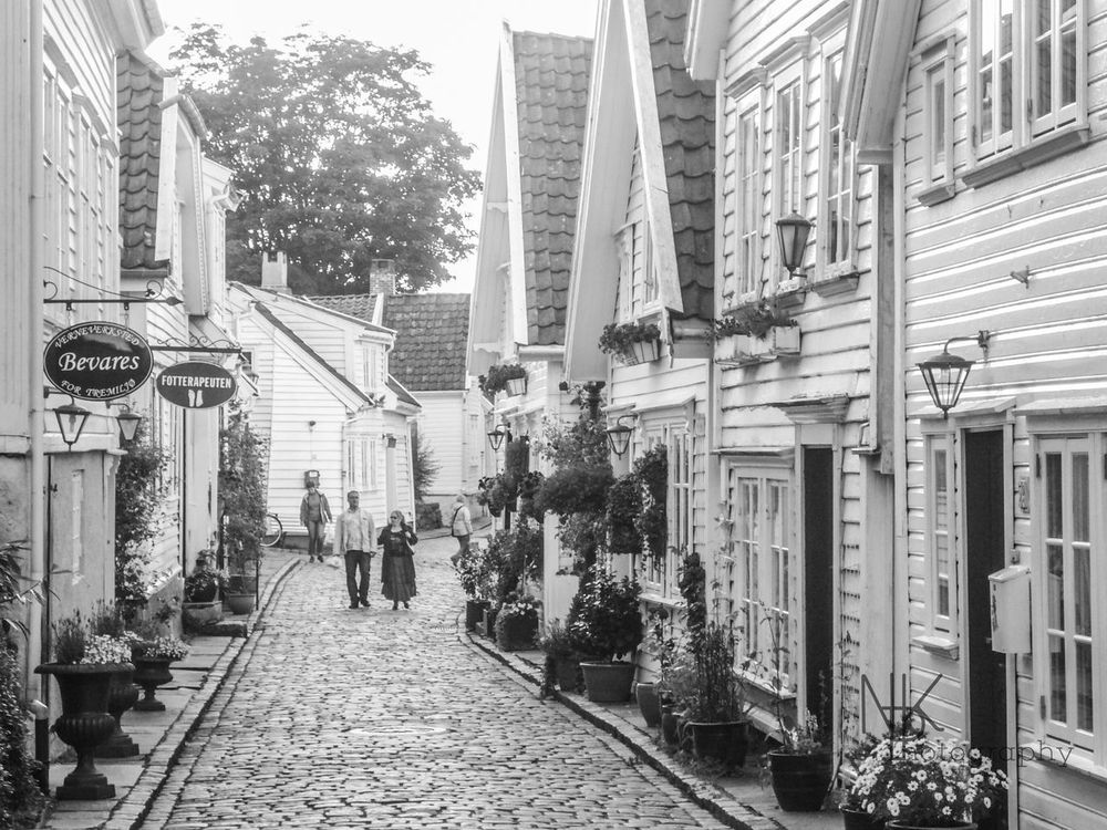 Norway in Black&White Norway Stavanger Black & White Old