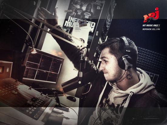 Radio NRJ Onair Vladimir Filatov, my friend @ NRJ-Voronezh 101.1 FM