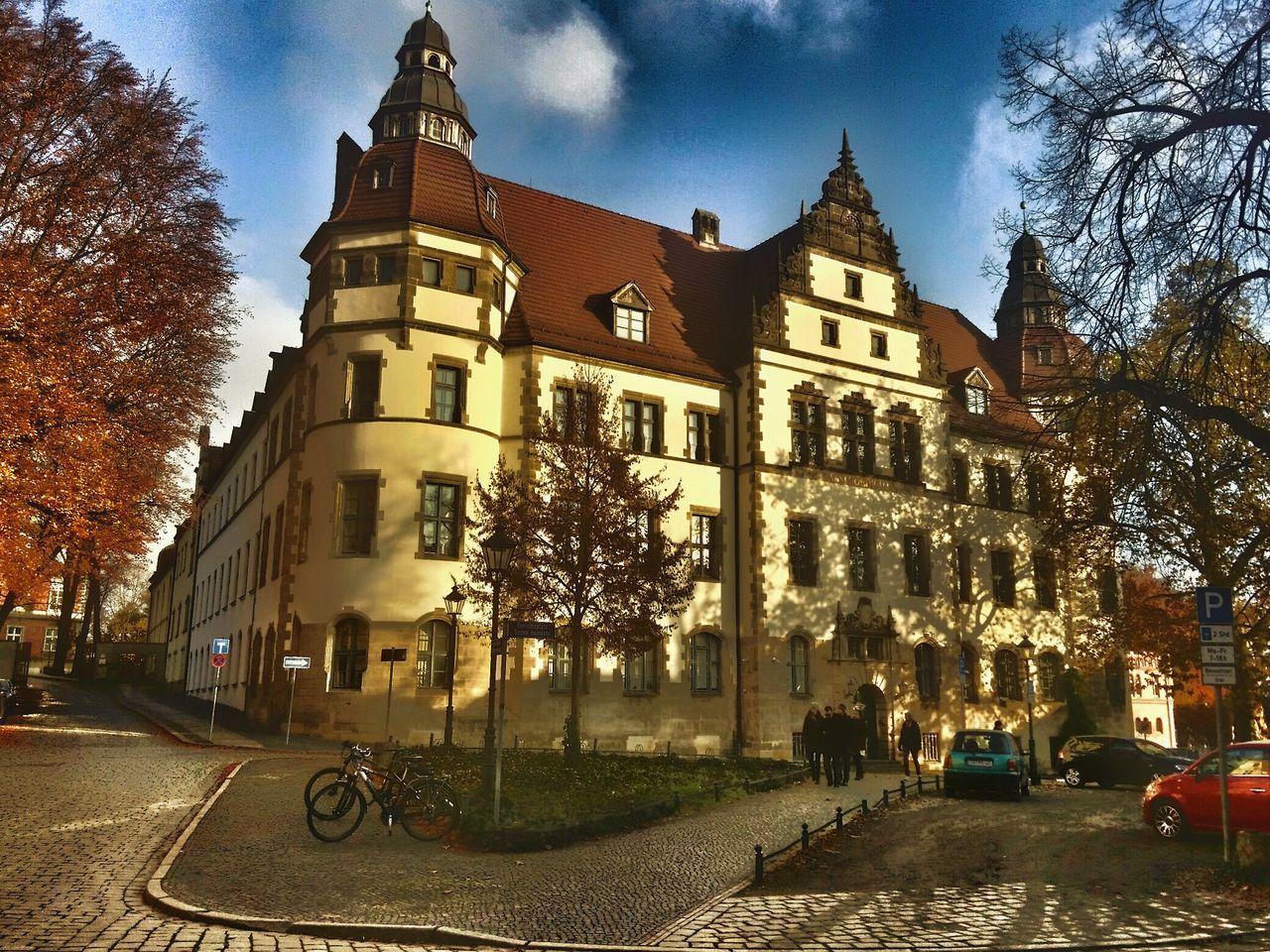 Amtsgericht Courthouse Altmarkt Outdoors Cottbus No People Day Cloud - Sky City