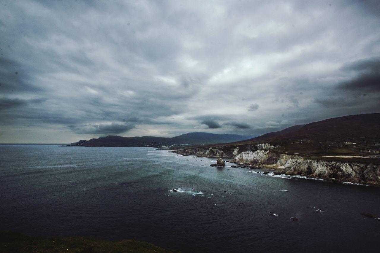 Achillisland Ireland Achill Island Achill Ireland🍀 Irelandinspires Scenics Water Sea Ocean Wildatlanticway Atlantic Atlantic Ocean Beauty In Nature Nature Coast Coastline Coastal WestCoast Mayo County Mayo Roadtrip