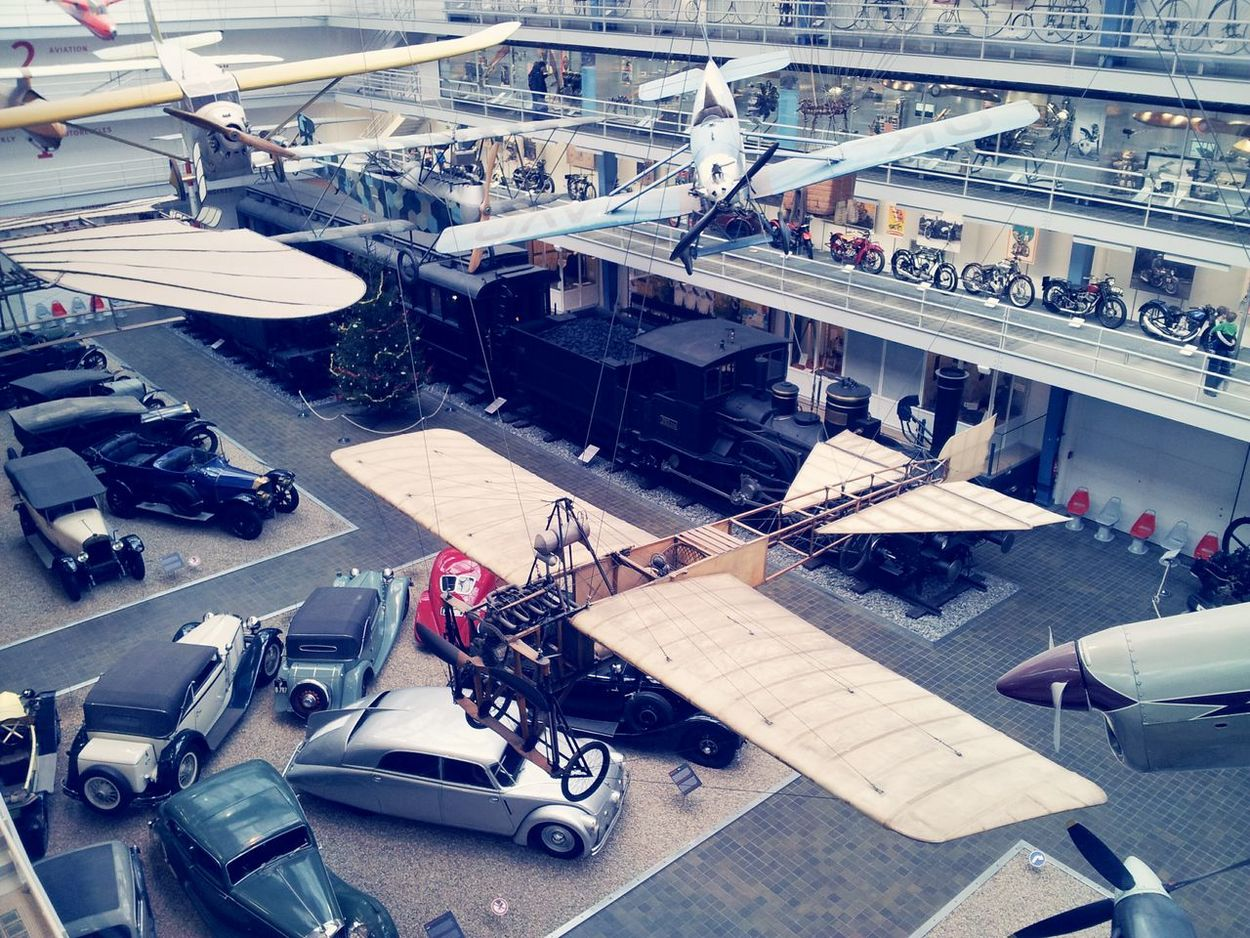 High Angle View Industry Metal Industry No People Cars Old Planes Old Cars ❤ Museum Museum Of Technology Planes