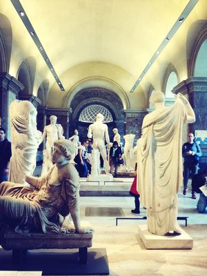 chillin with the fam  at Musée du Louvre by Hayley McCord