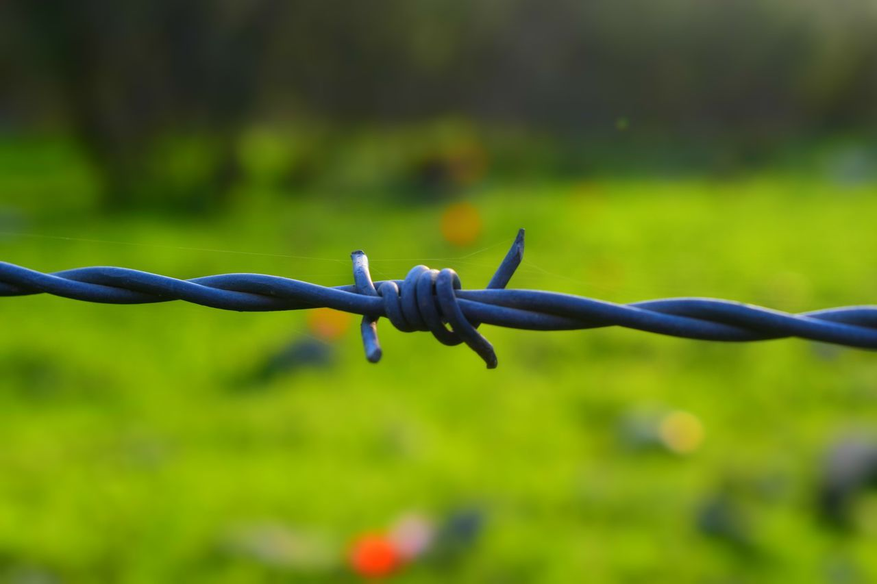 Security Fence Barbed Wire Protection Safety Metal Chainlink Fence Focus On Foreground Boundary Close-up Wire Exclusion Danger Separation No People Outdoors Barricade Razor Wire War Day Photooftheday Love Photography Adventure Photo