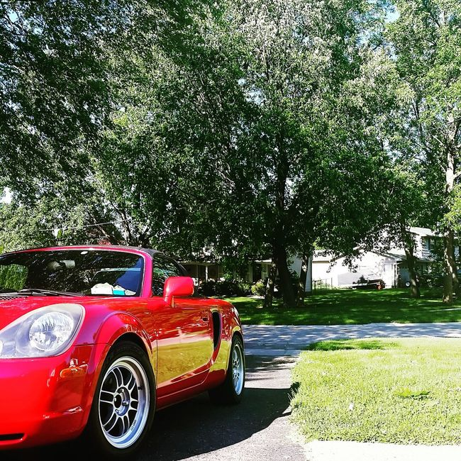2zz MR2 Red Mr2spyder Enkei 6speed Convertible Rpf1 Midengine Summer