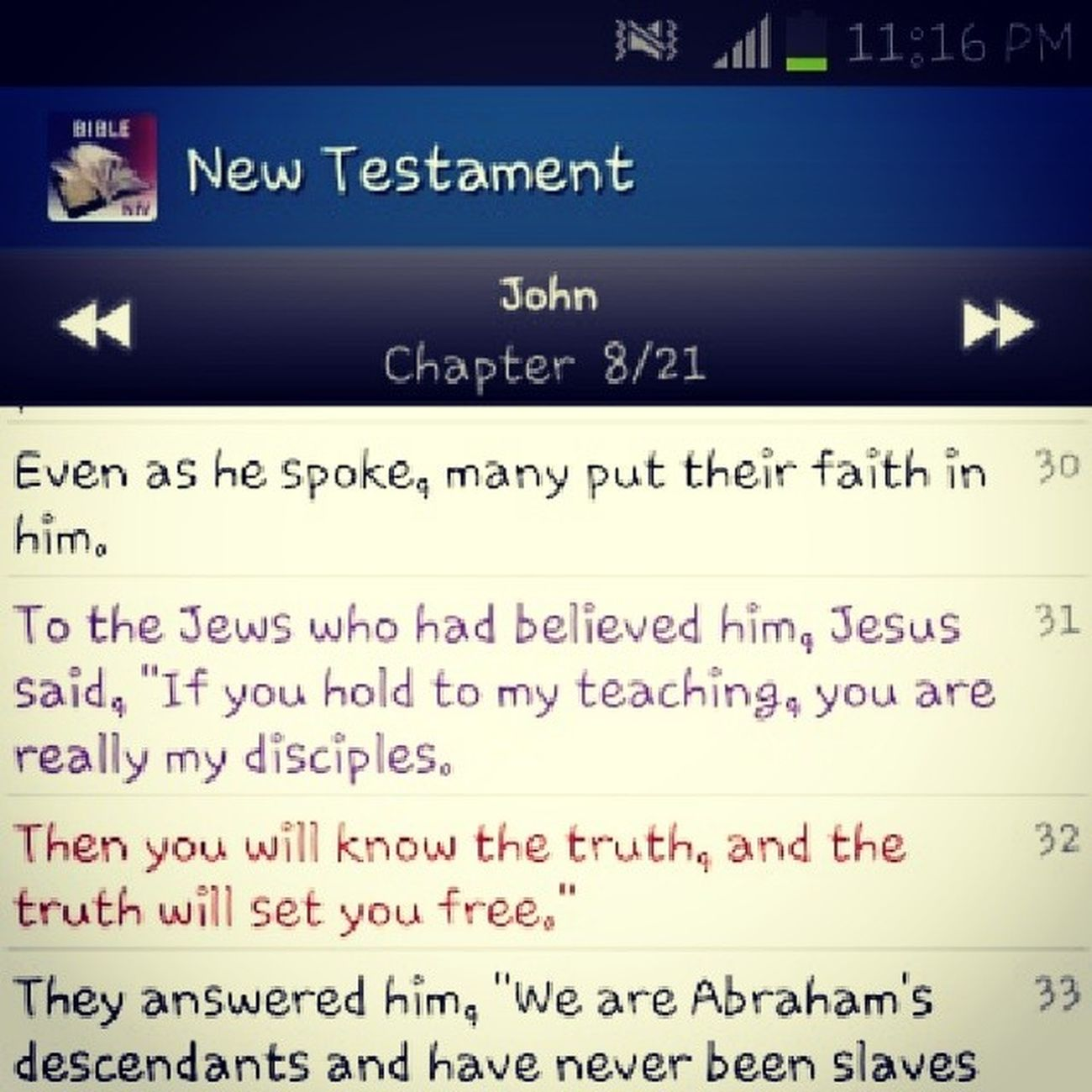 Share :) the truth will set you free. I am free. How bout you? Instaverse WordOfGod