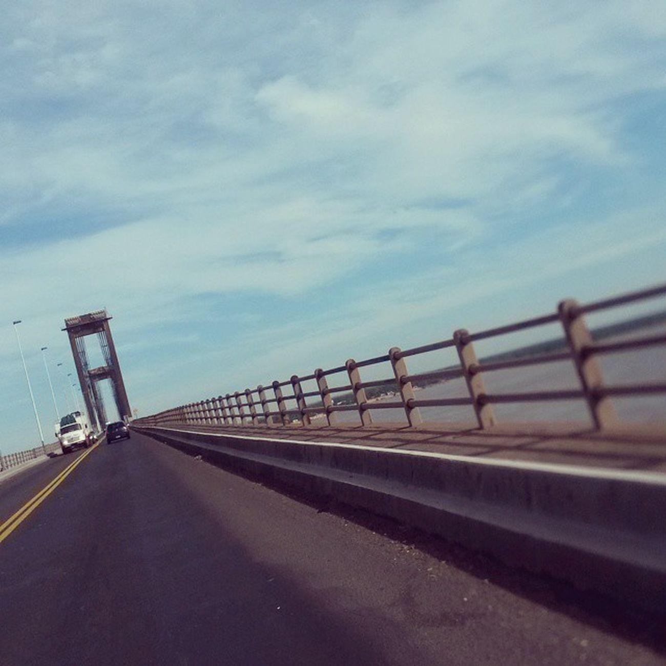 Buen dia! Puente Corrienteí Rio Paraná facultad
