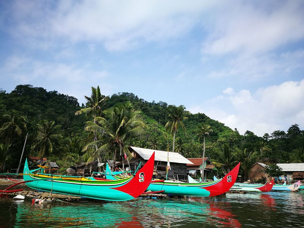 Jukung traditional boat Beach Day Vacations Outdoors Traditionalboat Water No People Sky Summer