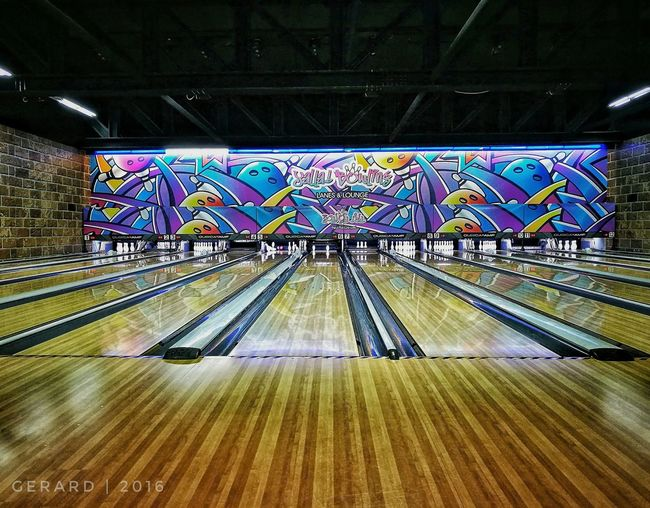 Colors&Details Colour Of Life Mobilephotography HuaweiP9 Oo Bowling Alley Instapic Leading Lines