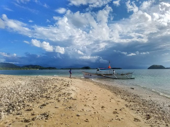 People And Places Sea Beach Sand Water Sky Tranquil Scene Tranquility Nature Sojourner EyeEm Best Shots Outdoors Travel Destinations Lifestyles Cloud - Sky