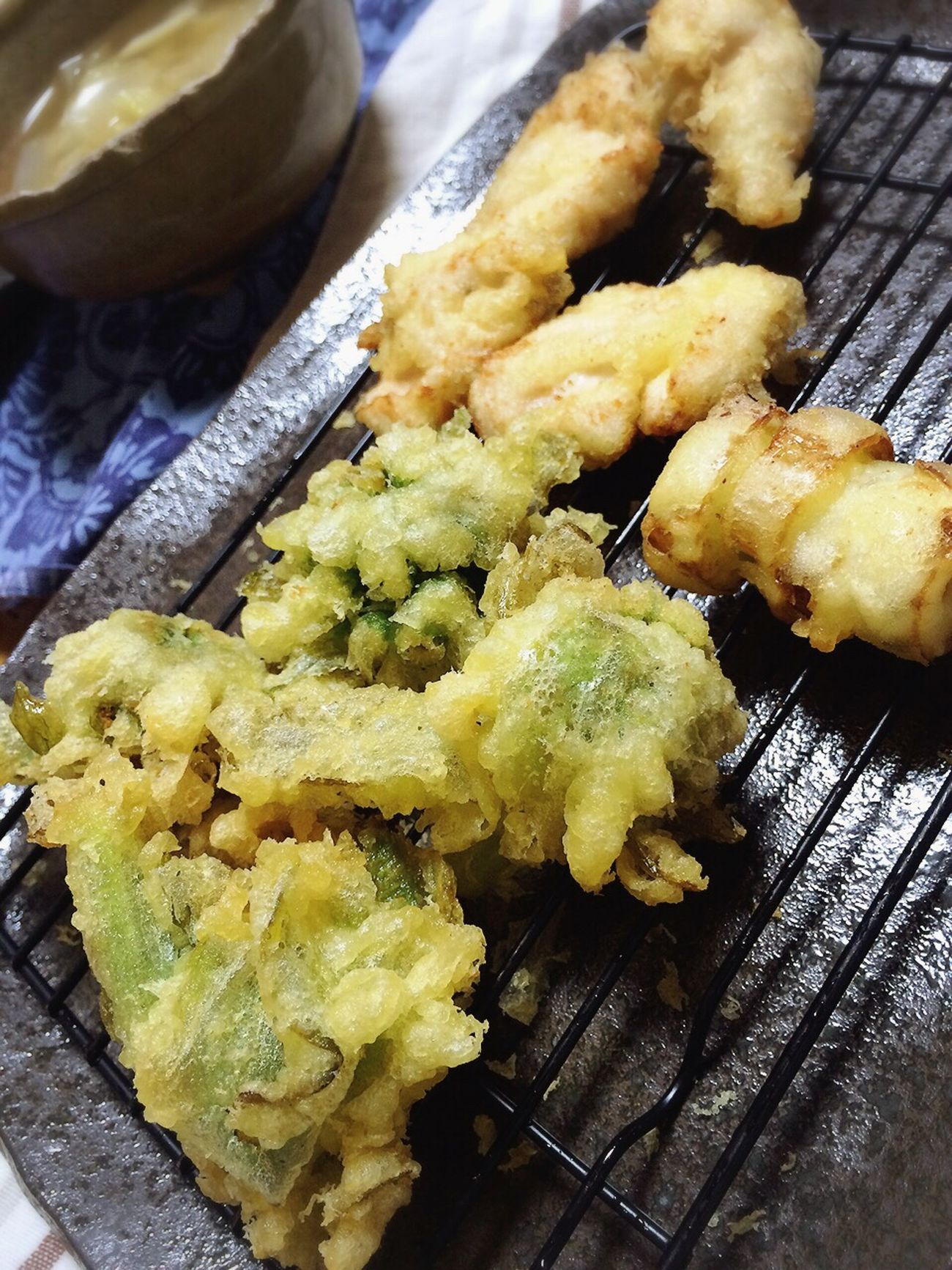 Japanese Food Japan Tenpura Giant Butterbur ふきのとう 天ぷら Dinner Fry Delicious Tasty Sogood