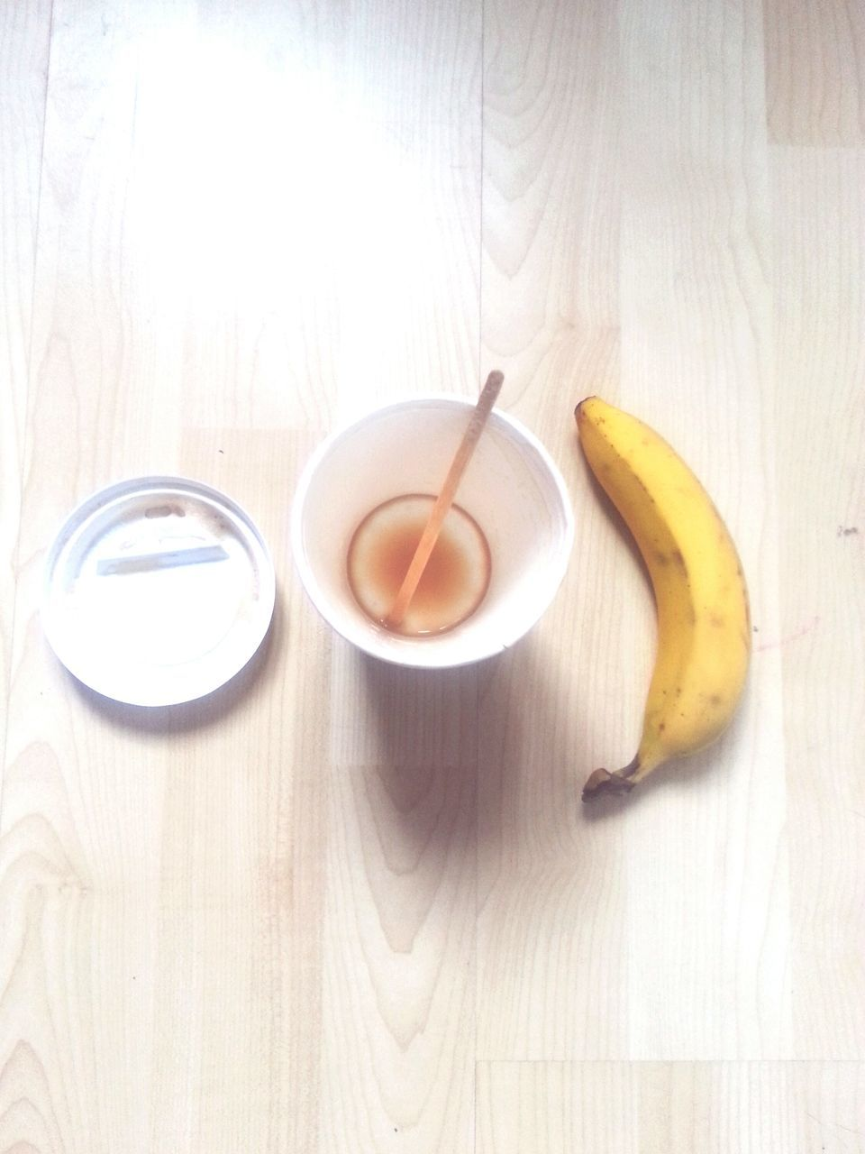 food and drink, fruit, healthy eating, banana, freshness, table, food, high angle view, no people, indoors, refreshment, healthy lifestyle, drink, banana peel, day, close-up