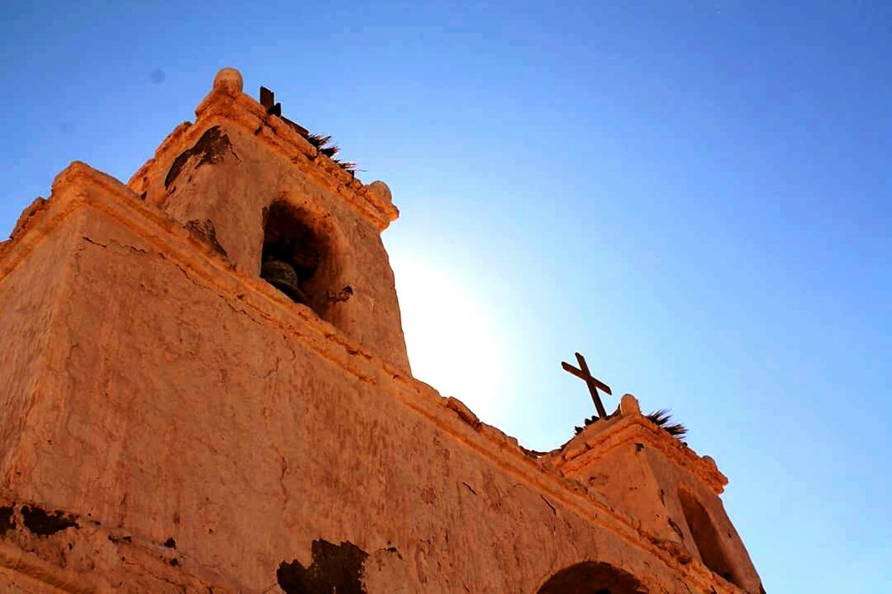 History Low Angle View Travel Destinations No People Outdoors Architecture Ancient History Representing Sky Day Church Chile South America Latin America