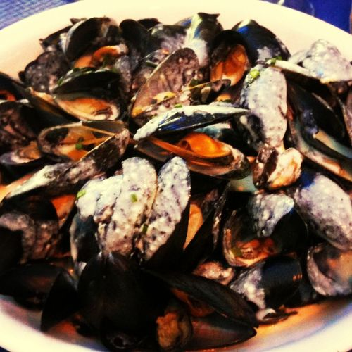 moules frites.