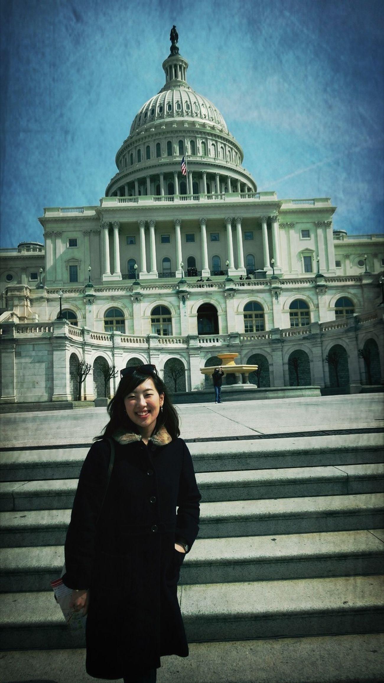 Capitol Washington, D. C. Trip Photo Great Atmosphere