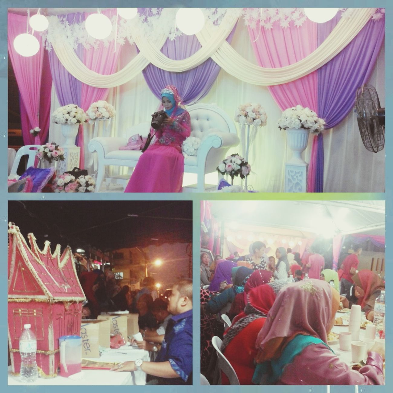 Night wedding ..??? Latepost Kenduri Kahwin Check This Out ♥Myunie♥