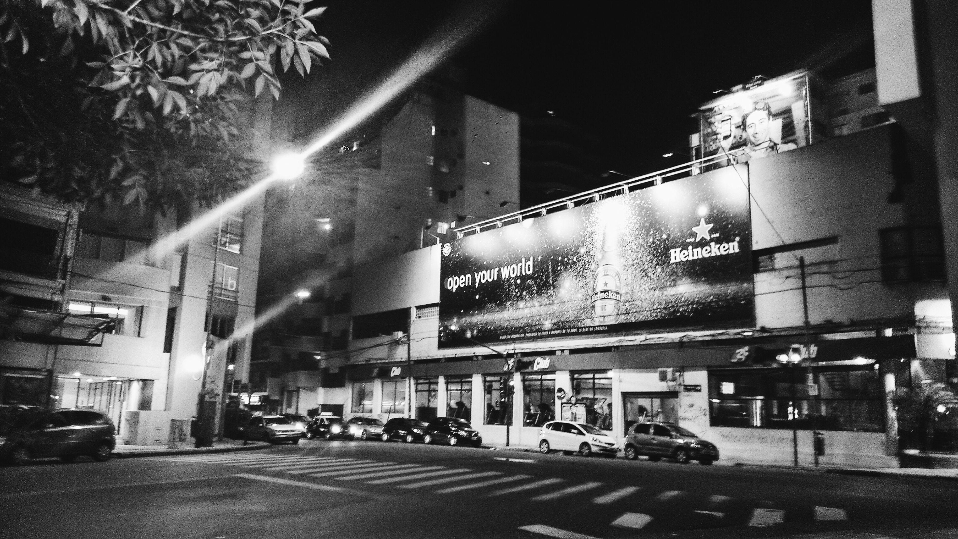 Open your world.. Belgrano Nights...